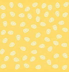 seamless pattern with eggs flat style vector image