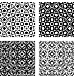 Design seamless flower pattern vector
