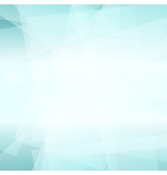 Abstract azure polygonal background vector