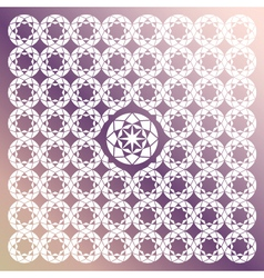 Jewel Seamless Pattern vector image