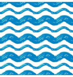 wave stripes vector image vector image