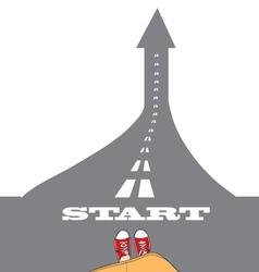Success start vector