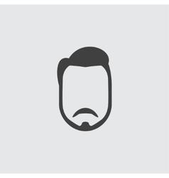 Beard icon vector image