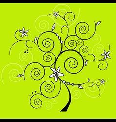 design tree vector image