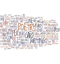 From poetry to profit text background word cloud vector