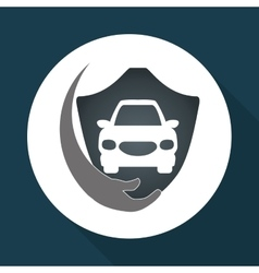 Insurance design protection concept isolated vector