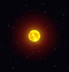 Solar system object sun vector