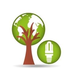 Ecology enviromental eco nature vector