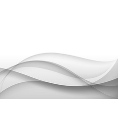 Abstract gray background with wave vector image