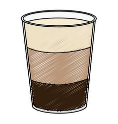 Coffee shake fresh icon vector