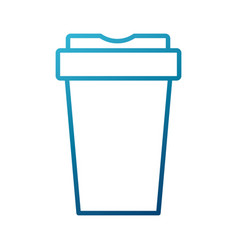 cup to go vector image