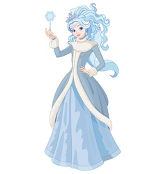 The Snow Queen vector image vector image