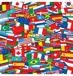 World flags background eps10 template vector