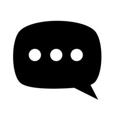 Conversation bubble icon image vector