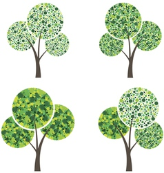 Art season trees vector