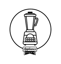 Home appliance icon vector