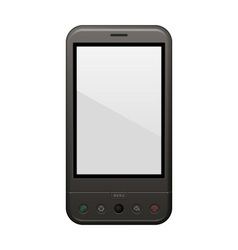 Android phone template vector