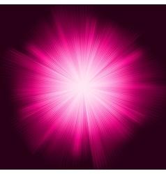 Deep Purple color design vector image