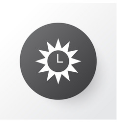 Azan icon symbol premium quality isolated clock vector