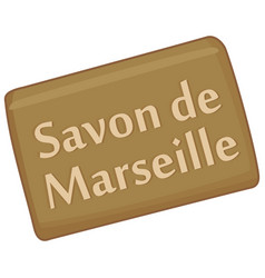 marseille soap vector image