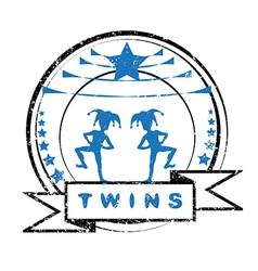 twins vector image vector image