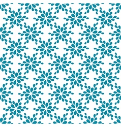 Seamless pattern decorative flower vector