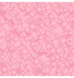 Vintage pink seamless rectangle pattern background vector