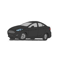 Car doodle hand drawn vector