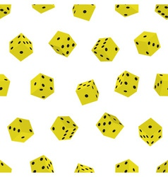 Dice pattern vector
