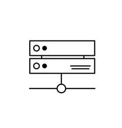 Line database technology system information vector