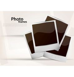Photoframes vector image vector image