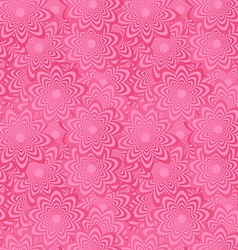 Pink seamless curved shape pattern background vector