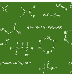 Seamlessly pettern - chemistry vector image vector image