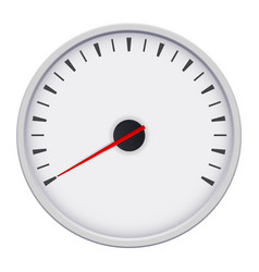 universal blank gauge vector image vector image