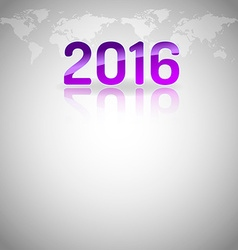 New year empty layout vector