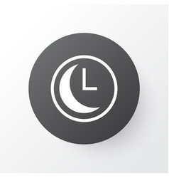 Clock icon symbol premium quality isolated time vector