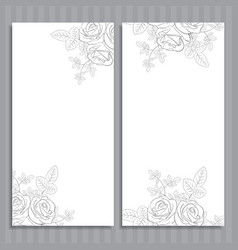 Wedding cards vector