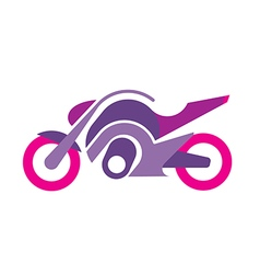 Motorcycle image vector