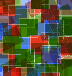 Abstraction of squares vector image