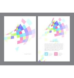 Brochure Flyer design Layout vector image vector image