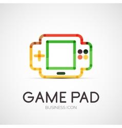 Gamepad company logo business concept vector