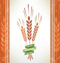 Grain symbol vector