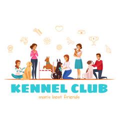 Kennel club vector