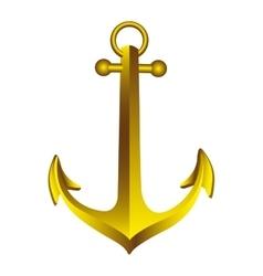 sea anchor icon image vector image vector image