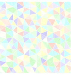 Triangle pattern seamless background vector