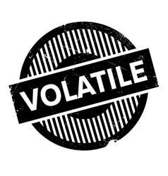 Volatile rubber stamp vector