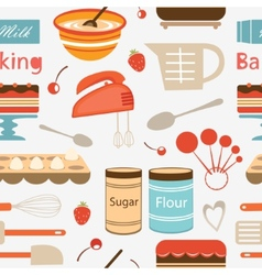 Baking pattern vector
