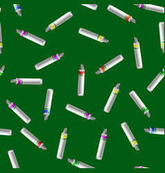 Colored tubes of paint vector