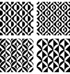 Design seamless geometric pattern vector image