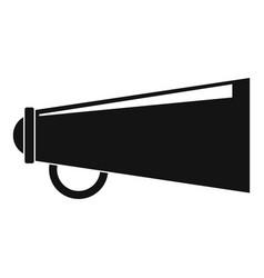 loudspeaker icon simple style vector image